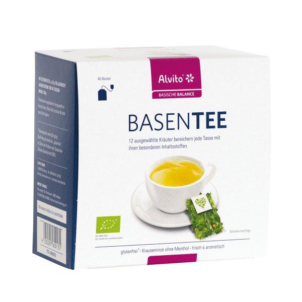 Alvito Basentee Säure-Basenhaushalt 40 Beutel