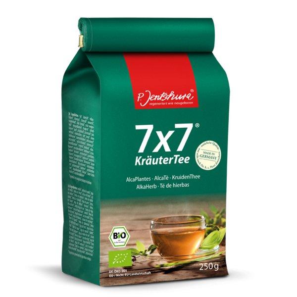 Jentschura 7x7 Kräutertee 250 g basischer Tee bio