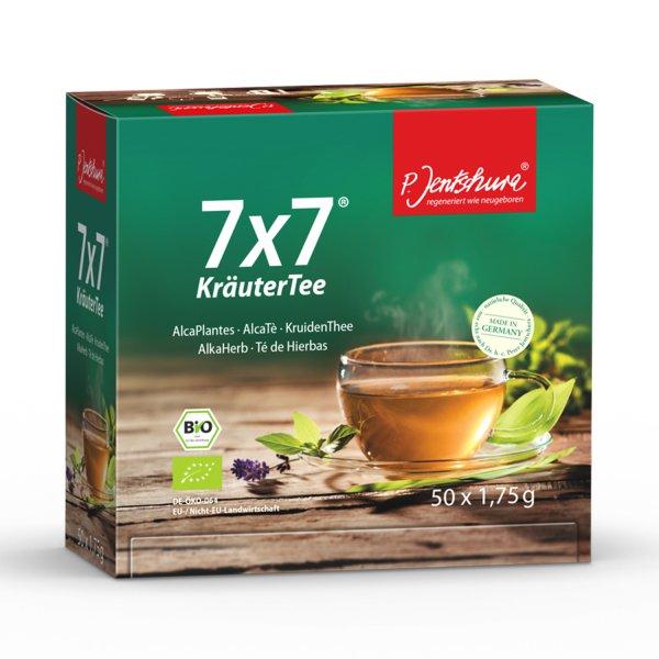 Jentschura 7x7 Kräutertee 50 Beutel bio