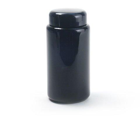 Violettglas Flasche 100 ml weit