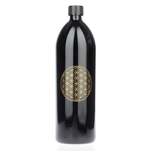 Violettglas-Flasche 1,0 LB