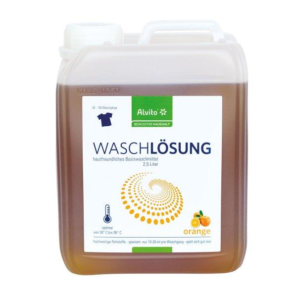 Alvito Waschlösung orange 2,5 l