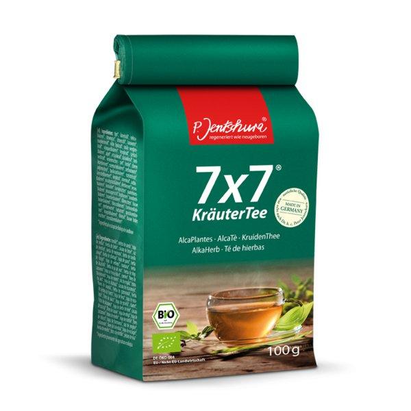 Jentschura 7x7 Kräutertee 100 g basischer Tee bio