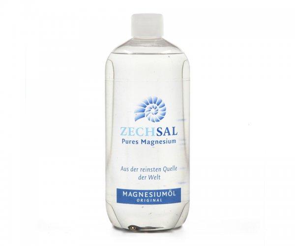 Orignal Zechsal transdermales Magnesium Öl 1,0 l Vorratsflasche