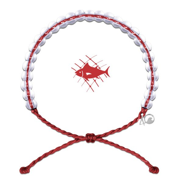 Original 4Ocean Armband Overfishing red