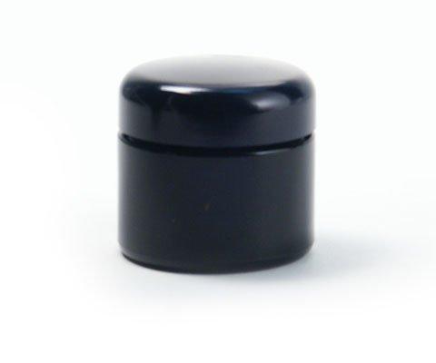 Violettglas Dose 50 ml weit