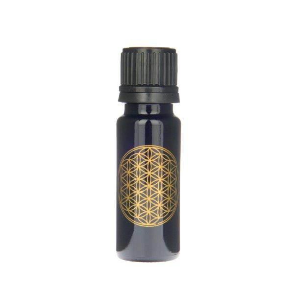 Violettglas Flasche mit Lebensblume 10 ml