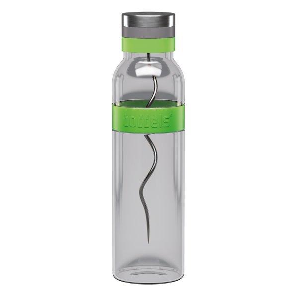 boddels SUND Glaskaraffe zum aromatiesieren deines Wassers 1,1 Ltr. apfelgrün