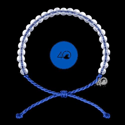 4Ocean Signature Blue 4Ocean blaues Armband