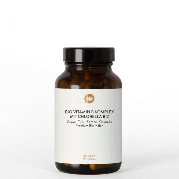 Vitamin B Komplex mit Chlorella