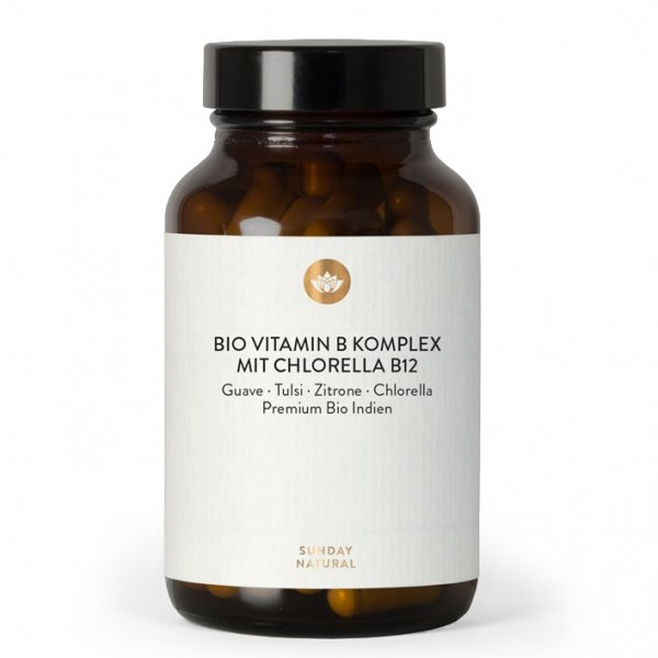 Vitamin B-Komplex m. Chlorella 120 Kps.