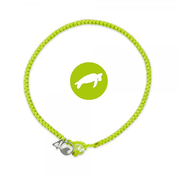 4Ocean Sea-Turtle Lime geflochten