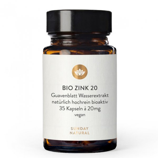 Zink 20 mg, 35 Kps.