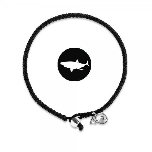 4Ocean Shark Black geflochten