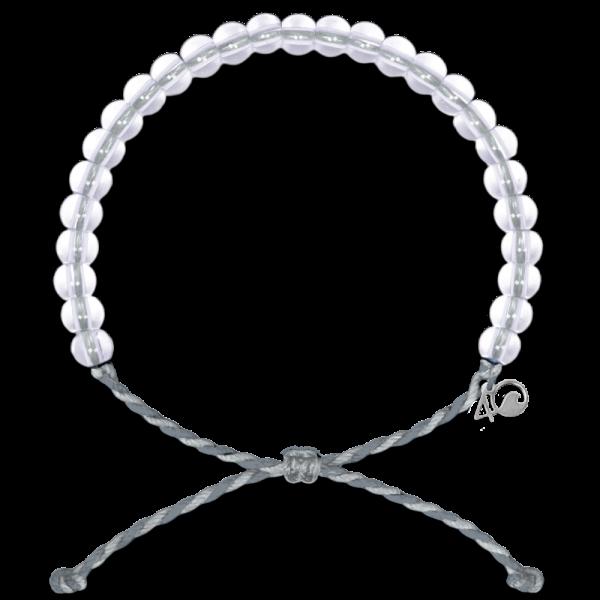 Das original 4Ocean Armband Manatee grey/white