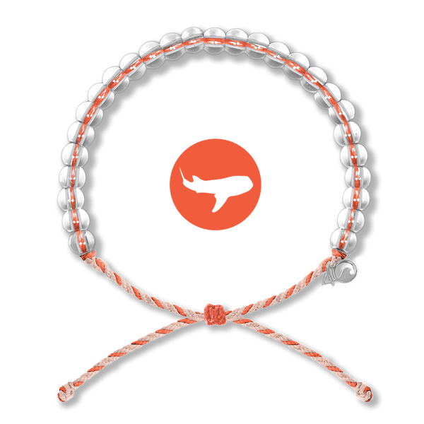 4Ocean Bracelet Whale Shark Orange/Tan