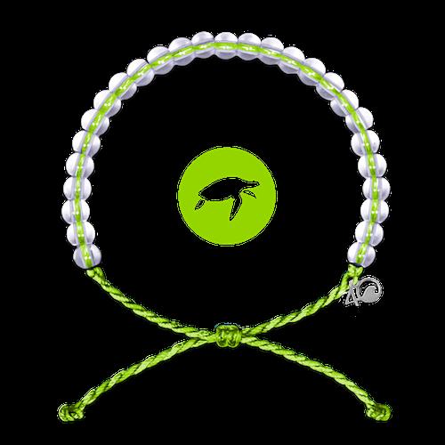 4Ocean Sea-Turtle Lime 4ocean Armband grün