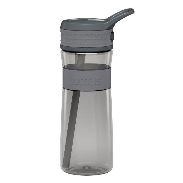 boddels Trinkflasche hellgrau/grau 600 ml