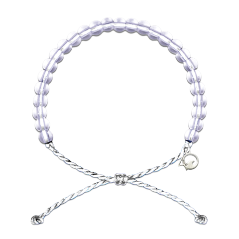 Original 4Ocean Armband Polar Bear white