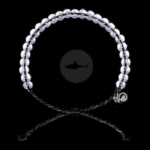 4Ocean Shark Black 4ocean Armband schwarz