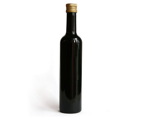 Violettglas Flasche 0,5 l