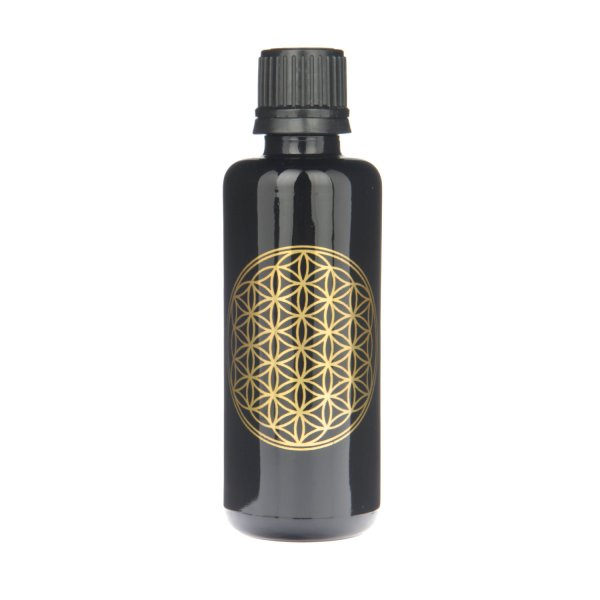 Violettglas-Flasche 50 ml LB