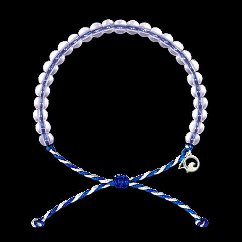 Original 4Ocean Armband Blue-White
