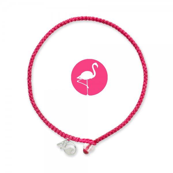 4Ocean Pink Flamingo geflochten
