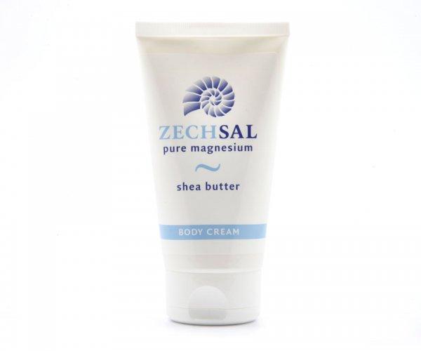 Orignal Zechsal transdermales Magnesium Body Cream mit Shea Butter